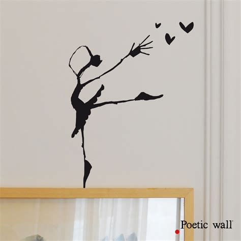 All Wall Stickers poetic wall stickers dessin rat de l op 233 ra 171 poetic wall