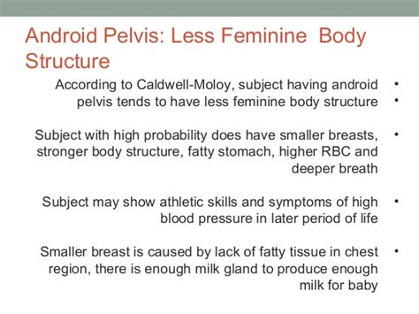 android pelvis anatomy of the bony pelvis a study in android structure