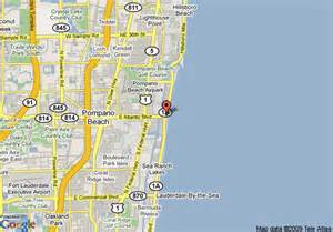 map of holiday inn pompano beach oceanside pompano beach