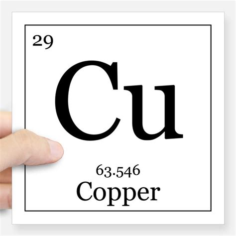 Cu On Periodic Table by Periodic Table Copper Hobbies Gift Ideas Periodic Table