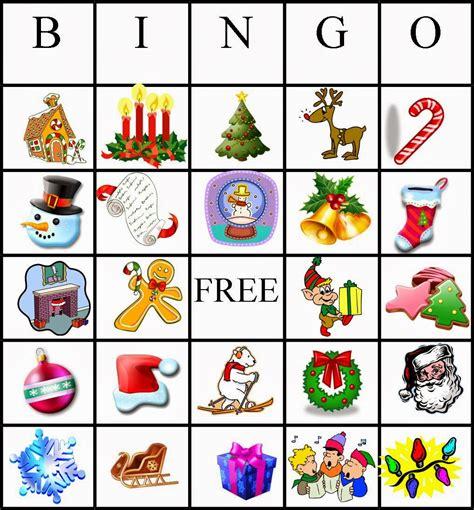 4 kids cakes christmas bingo