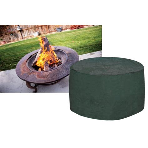 Large Firepit Cover Green Firepit Pad
