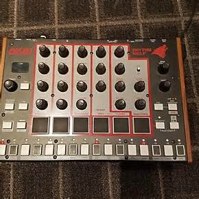 rhythm wolf drum machine used akai professional rhythm wolf drum machine guitar