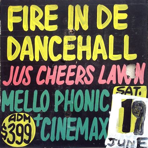 danethrall a novel books visual culture jamaican dancehall signs from the