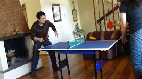 small ping pong table mini mesa de ping pong rs youtube