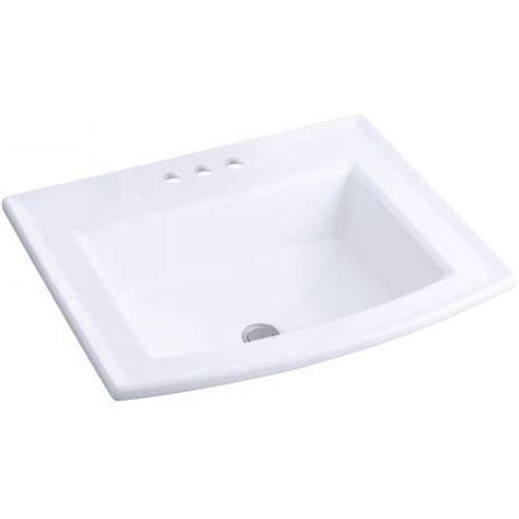 bathroom drop in sink drop in bathroom sink ebay