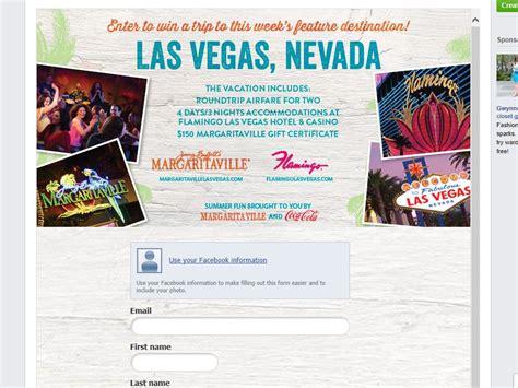 Vegas Sweepstakes - margaritaville summer trip las vegas sweepstakes