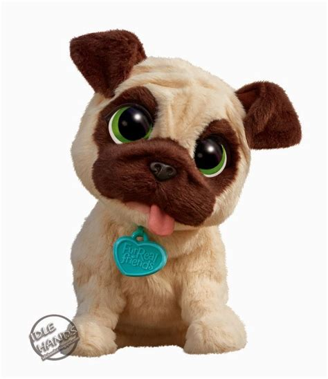 furreal pug puppy furreal friend s jj my jumping pug for the ones friends pug