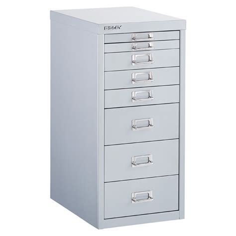 bisley silver 8 10 drawer collection cabinets the