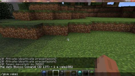 Su Minecraft by Come Cambiare Il Tempo Su Minecraft Tutorial