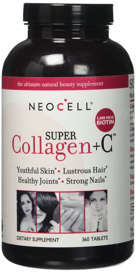 Vitamin C Collagen Tablets neocell collagen type i iii vitamin
