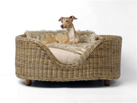 wicker bed wicker dog beds with legs bitdigest design a classic