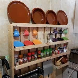 pallet kitchen shelf ideas pallet idea
