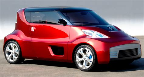 cube cars concept flashback 2007 nissan round box is leaf cube iq