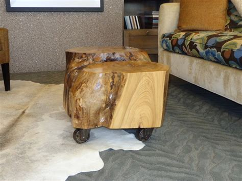 Wood Stump Coffee Table Make A Stump Coffee Table Home Ideas Collection