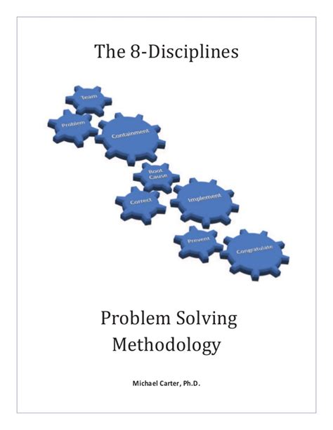 8 problems that can be easily solved by machine learning 8d the 8 disciplines problem solving methodology