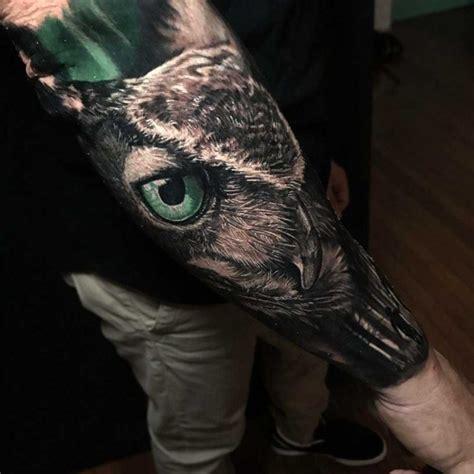 realistic owl tattoos best tattoo ideas gallery