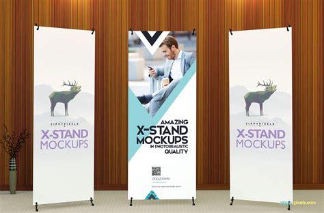 design x banner online free x banner roll up banner mockups vol 1 on behance