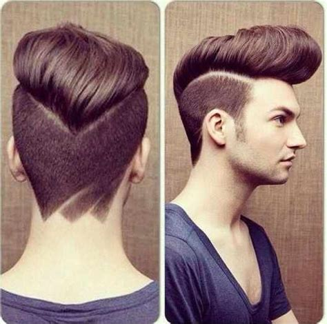 epic hairstyles for men epic pompadour with undercut hairstyle picture best