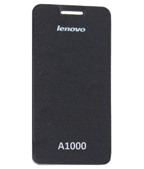 Flip Cover Lenovo A1000 ifra flip cover for lenovo a1000 black flip covers at low prices snapdeal india