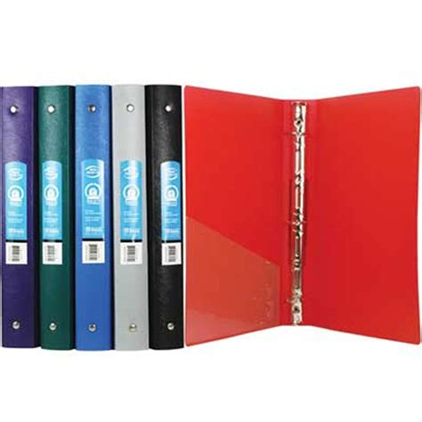 poly three ring binders bulk binders mazer wholesale