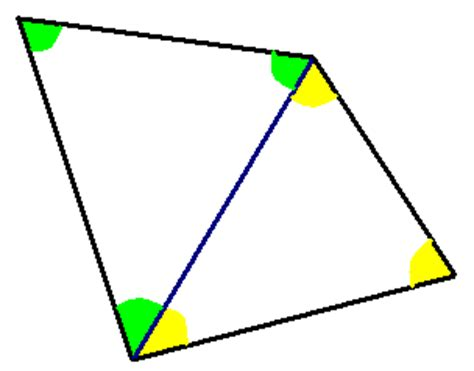 Drawing Quadrilaterals by Angles Gcse Revision Maths Shape Space And Measures