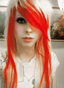 colorful haircut hairstyles for girls hair color ideas