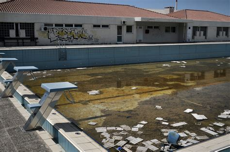 olympics venues athens olympic venues in ruins ten years after the games