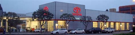 san francisco toyota parts service  rental