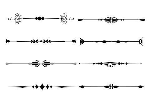 vector line art tutorial illustrator free vector fancy line ornament vectors 10771 my