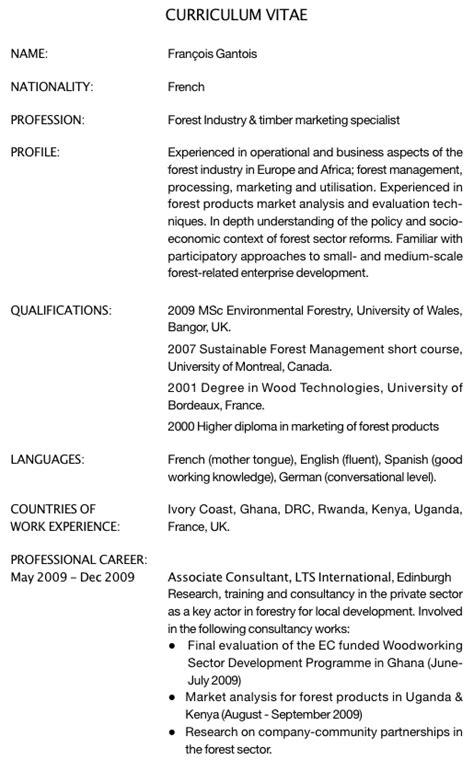 Lettre De Motivation Anglais L étudiant Exemple De Cv En Anglais Comment 233 Pour Un Premier Emploi Dans L Industrie Foresti 232 Re L Etudiant