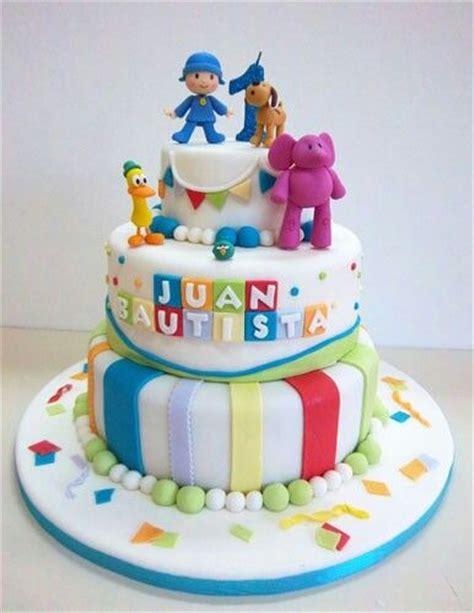 decorar tarta pocoyo ideas de pastel para cumplea 241 os tem 225 tico de pocoyo
