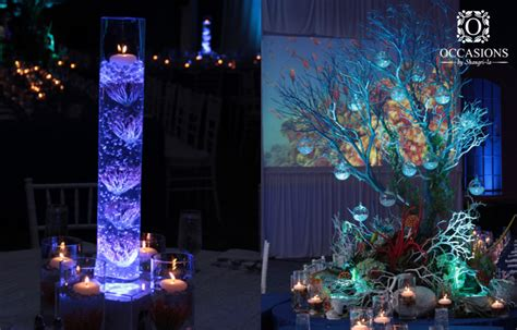Floral Arrangements For Home Decor underwater themed decor underwater themed event