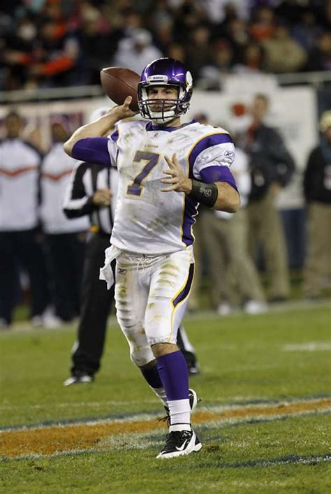 5 Half Situations To Ponder On by Christian Ponder Beck To Get Starts At Qb Sfgate