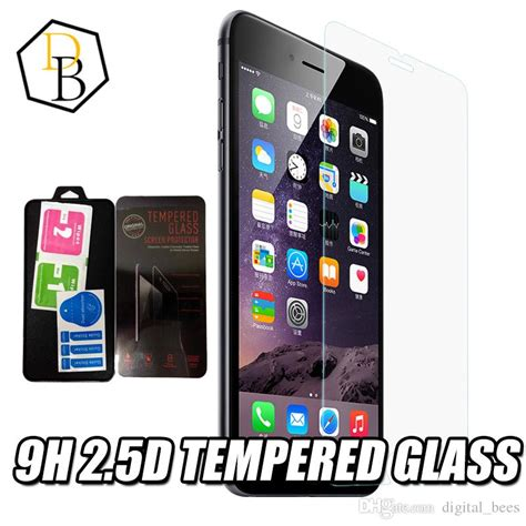 Tempered Glass Warnacolour Iphone 7 Plus High Quality Paper Pack best for samsung s7 iphone 7 plus tempered glass high quality screen protector clear view temper