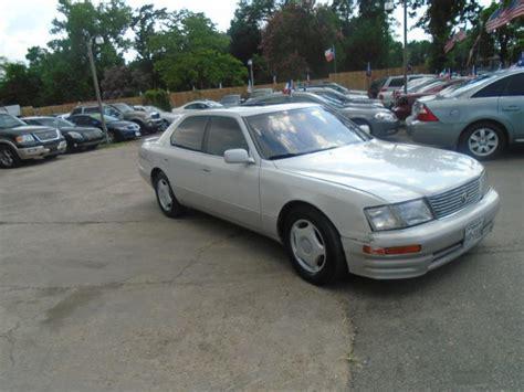 1997 lexus ls400 for sale lexus ls 400 for sale in houston tx carsforsale