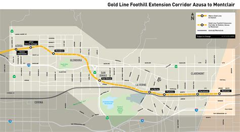 metro gold line map moregold metro net metro gold line foothill extension