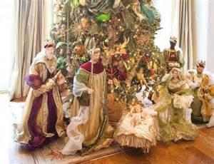 quot nativity scene under christmas tree quot enjoy your