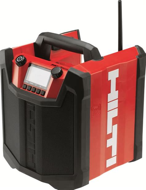 charger radio station new hilti radio charger wants users to rock more cordless