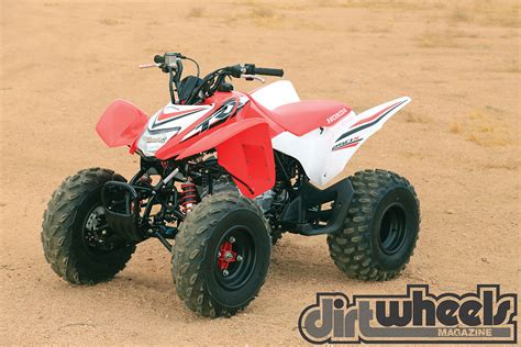 Honda Trx250x by Atv Test 2017 Honda Trx250x Dirt Wheels Magazine