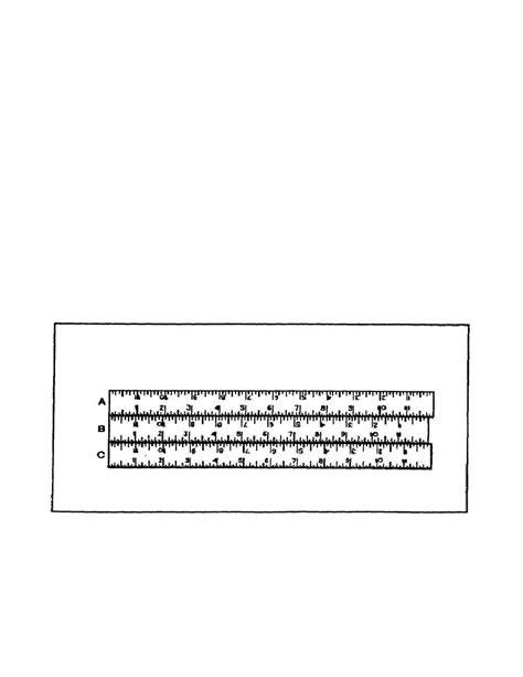 pattern shrinkage rules figure 165 shrink rules compared to standard rule