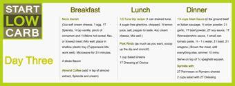 atkins diet the free encyclopedia diet menu menu plan for low carb diet