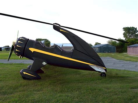 Auto Gyro For Sale by Autogyro Ready For Take Off After Funding Fuel From The