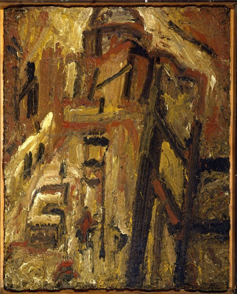 landscapes john berger on kossoff leon kossoff best leon kossoff leon and john berger ideas