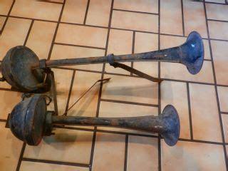 boat horn mounting antique moto vox pancake horn klaxon hotrod roadster
