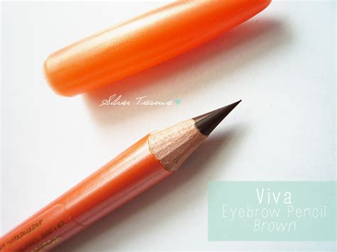 Eyeliner Pencil Warna Putih Viva viva eye brow pencil brown silver treasure on a budget