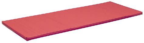 materasso palestra materasso palestra d16 cm 200x100x6h rosso nm 5272 07