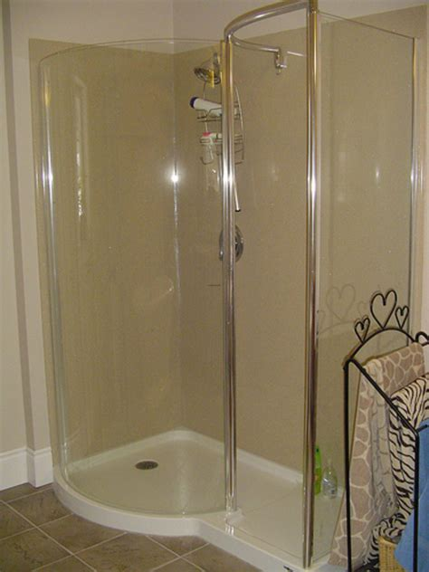 Shower Door Design Shower Doors Walk In Shower No Door
