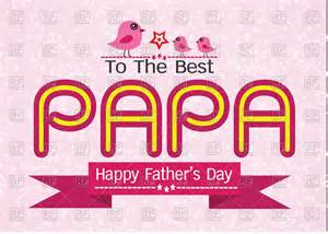 to best papa happy s day card vector image 88099 rfclipart