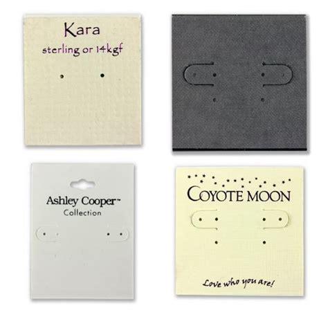 earring card holder template custom earring cards with logo custom earring cards with